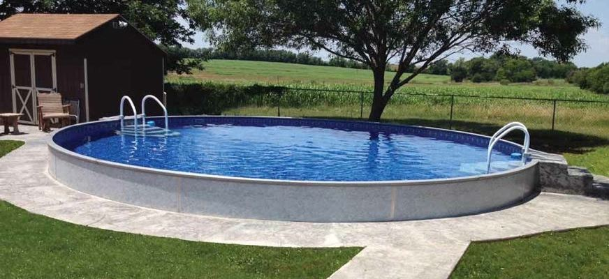 prix installation piscine semi enterree Somme